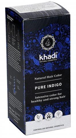 Colore Vegetale per Capelli - Blue-Black Pure Indigo Khadì 8017d746f202