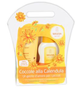 Confezione Regalo - Coccole alla Calendula - Babywash + Crema Fluida