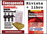 Blister Il Consapevole n. 9 + 11 settembre 2001 Inganno Globale