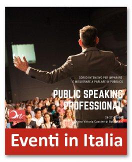 Corso intensivo per imparare a parlare in pubblico