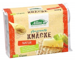 Crackers Integrali di Amaranto - Amaranth Knacke
