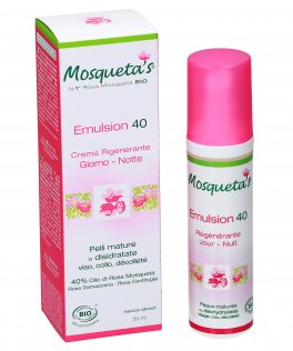 Crema Emulsion 40 - Rigenerante Giorno-Notte