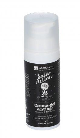 Crema-Gel Viso Antiage - CBD SativAction