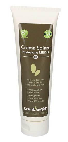 Crema Solare all'Olio E.V.O - Protezione Media