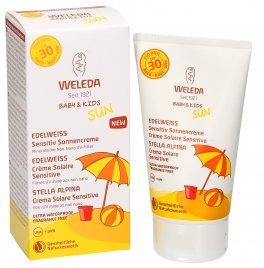 Crema Solare Sensitive per Bambini Spf 30 - Baby and Kids