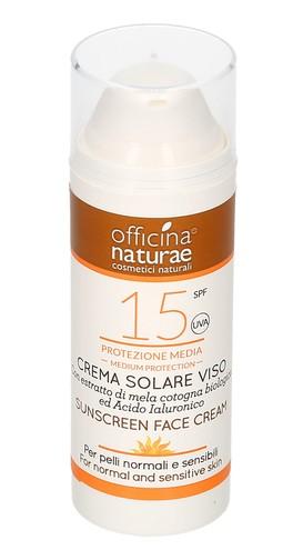 Crema Solare Viso Spf 15