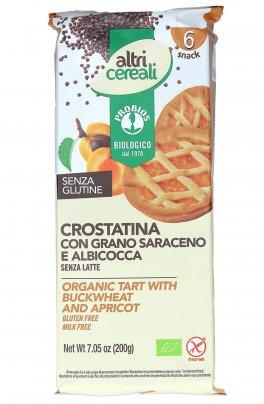 Crostatina con Grano Saraceno e Albicocca