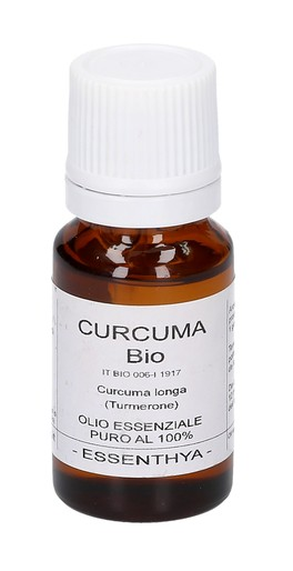 Curcuma Bio - Olio Essenziale Puro - 10 ml