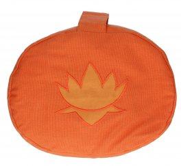 Cuscino Ovale in Pula Piccolo - Arancione
