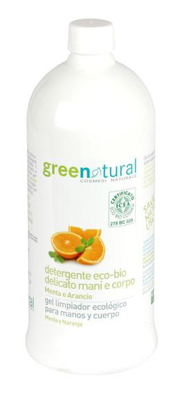 Detergente Eco-Bio Delicato Mani e Corpo - Menta e Arancio