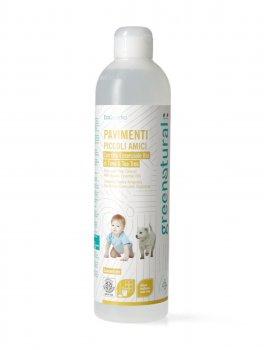 Detergente Pavimenti con Olio Essenziale di Timo, Tea Tree e Lavanda
