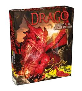 Drago modello di drago in 3d libretto il castello for Costruisci il tuo simulatore di casa
