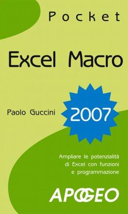 eBook - Excel Macro 2007 - EPUB