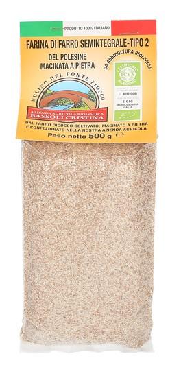 Farina di Farro Semintegrale Tipo 2