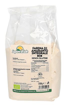 farina per celiaci Farina Integrale di Amaranto