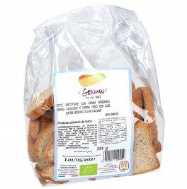 Fette Biscottate con Farina Integrale Farina Saraceno e Farina Orzo