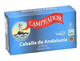 Filetti di Sgombro Naturale - Caballa de Andalucìa