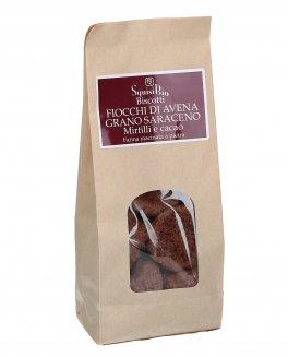 Fiocchi di Avena Grano Saraceno Mirtilli e Cacao