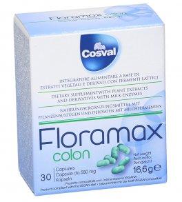 Floramax Colon - Integratore di Estratti Vegetali con Fermenti Lattici