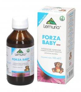 Forza Baby  - Integratore a base di Echinacea, Rosa canina, Radice di Altea, Vitamina C