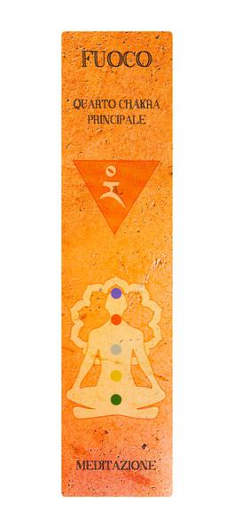 Incensi dei Cinque Chakra Principali - 10 Bastoncini Aromatici