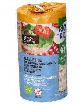 Gallette di Riso con Quinoa