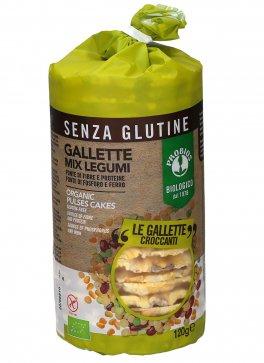 Gallette Mix Legumi e Mais - Senza glutine