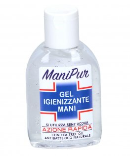 Gel Igienizzante Mani con Tea Tree oil - ManiPur