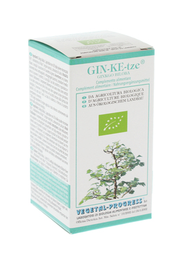 Gin-Ke-Tze - Ginkgo Biloba - Integratore in Compresse