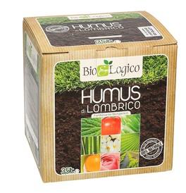 Humus di Lombrico - Fertilizzante Biorganico