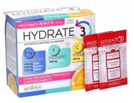 Hydrate 3 - Integratore di Magnesio, Potassio e Vitamina C in Buste