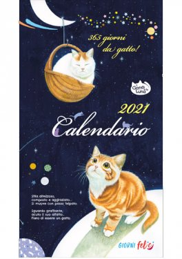 Il Gatto e la Luna - Calendario Medio 2021