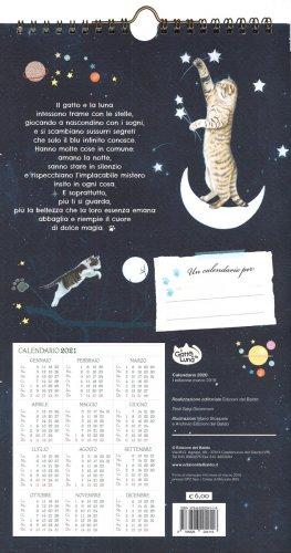 Calendario Lunare 2020 2020.Il Gatto E La Luna Calendario Medio 2020 Calendario