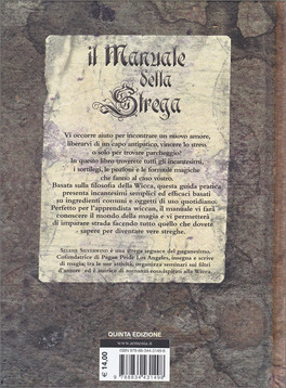 il manuale della strega selene silverwind rh macrolibrarsi it Strega Tradition Strega Witch Supplies