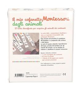 Il Mio Cofanetto Montessori degli Animali - 52 Carte