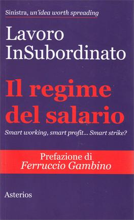 Il Regime del Salario