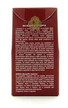 BORENA Incenso PUNT in confezione da gr 100 incense