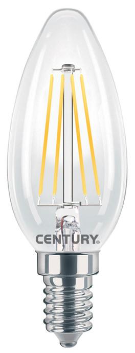 Lampadina Incanto Led Candela E14 (4W - 230V) - Luce Calda