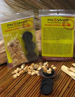 Incenso di Palo Santo Scaglie + 3 Carboncini