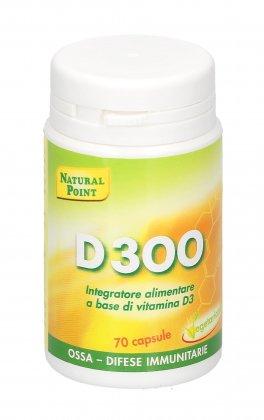 Integratore D300 con Vitamina D3
