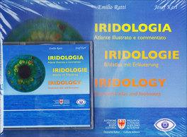 Iridologia - Atlante Illustrato e Commentato - Libro + CD