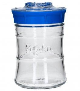 Kefir Maker - Kit per l'autoproduzione del Kefir di latte o d'acqua - 848 ml