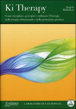 """KI THERAPY + CD AUDIO di Angelo Balladori  In questo libro vengono trattate quelle tecniche di guarigione che intervengono sui piani sottili, proprio là dove si originano squilibri e malattie. Dopo una chiara spiegazione sui principi universali dell'energia, sulla fisiologia del corpo energetico, sui principi di guarigione eterico-fisica ed eterico-psichica, il lettore è accompagnato in esercizi di percezione dell'energia fino a trattamenti di pulizia dell'aura, di riequilibrio dei chakra e tecniche avanzate per le varie patologie fisiche e i più diversi disturbi psichici. Il tutto accompagnato da numerosi esercizi di visualizzazione e meditazione. Nella Seconda parte si forniscono approfondimenti atti a velocizzare e a rendere più incisiva la terapia. A conclusione di questa sono elencati in ordine alfabetico più di duecento, tra disturbi e malattie, ciascuno con un protocollo di interventi di terapia vibrazionale. Nella Terza parte si affrontano i disturbi che si manifestano sul piano prettamente psichico. Nella Quarta parte sono illustrate varie modalità per proteggersi da influenze psichiche negative esterne; questa parte fornirà essenzialmente tecniche per creare """"bolle"""", """"scudi"""" e altri artifici energetici per schermarci da negatività di vario genere e provenienza. L'energia segue il pensiero, dunque l'intenzione e l'attitudine del terapeuta sono fondamentali. Il frequente invito all'autotrattamento porta chi lo compie a sperimentare su di sé le tecniche e contemporaneamente fa comprendere la necessità di un equilibrio e una pulizia energetica del terapeuta stesso...."""