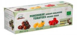 Kit di Semina: 3 Varietà di Pomodori