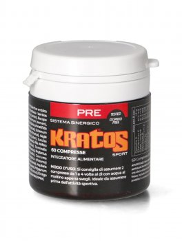 Kratos Sport Pre - Integratore di 32 Erbe Ayurvediche