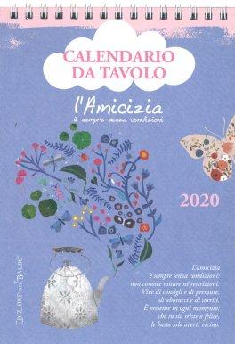 Calendario Da Scrivania 2020.L Amicizia Calendario Da Tavolo 2020 Calendario