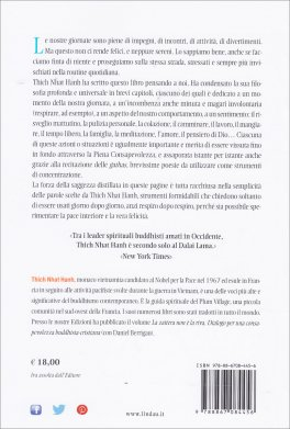 LA PACE è OGNI RESPIRO Semplici Esercizi per le nostre Vite Stressate di Thich Nhat Hanh