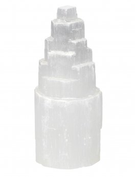 Lampada Selenite a Spirale - Senza Base