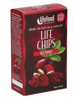Life Chips alla Barbabietola Rossa - Beetroot