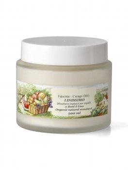 Linissimo - Maschera-Impacco Nutriente per capelli ai Semi di Lino